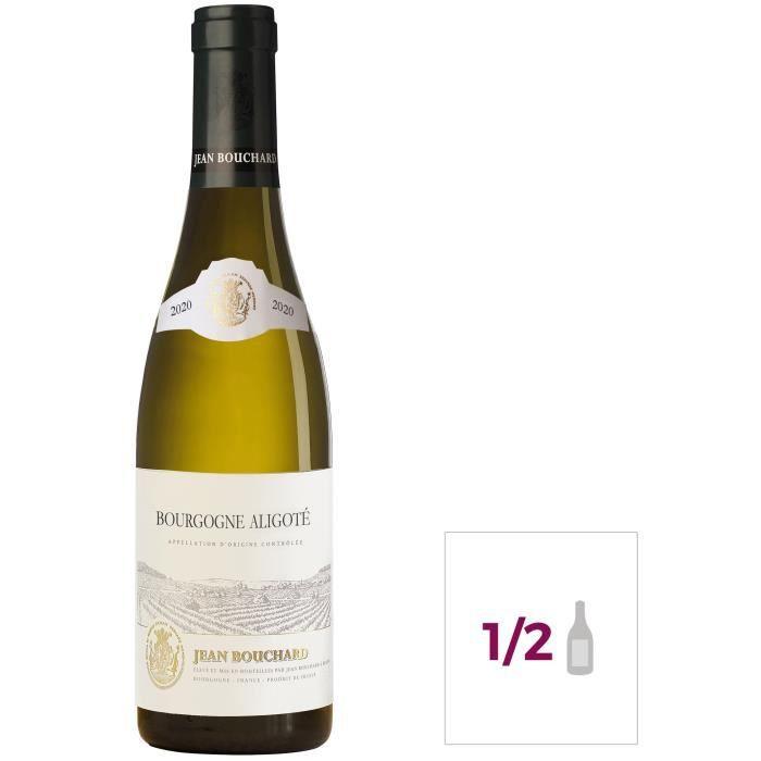 Jean Bouchard 2020 Bourgogne Aligoté - Vin blanc de Bourgogne - 37,5 cl