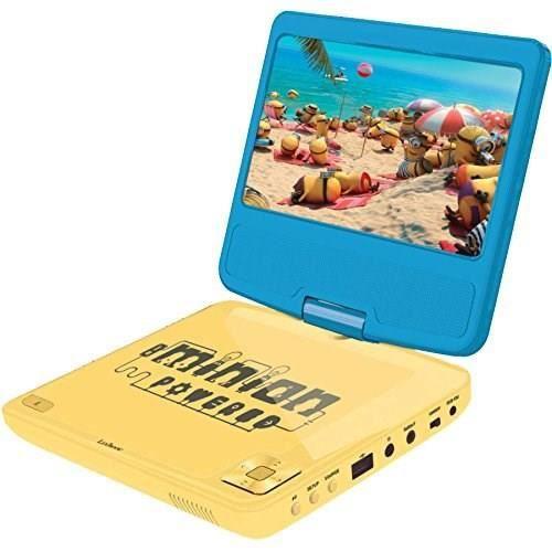 Écran LCD portable LES MINIONS Lecteur DVD 7