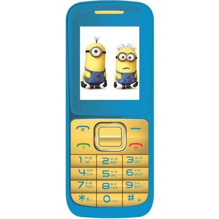 LES MINIONS Téléphone portable enfant LEXIBOOK