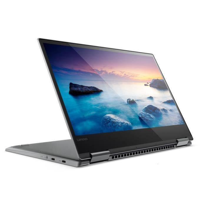 Lenovo pc portable convertible yoga 720 13ikb 133 fhd ram 8go core i5 7200u stockage 128go ssd intel hd graphics win 10