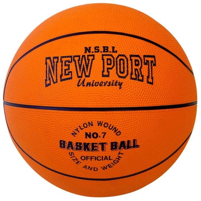NEW PORT Ballon de basketball - Orange