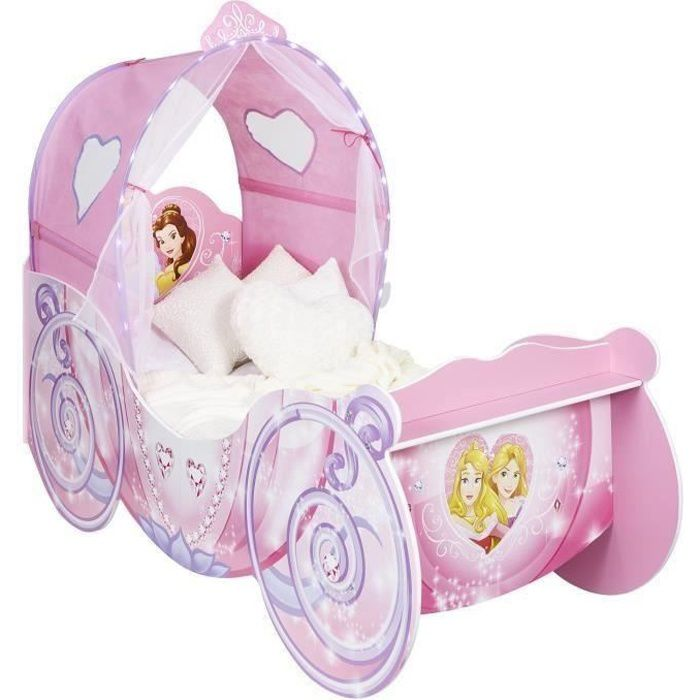 DISNEY PRINCESSES Lit Enfant Carosse