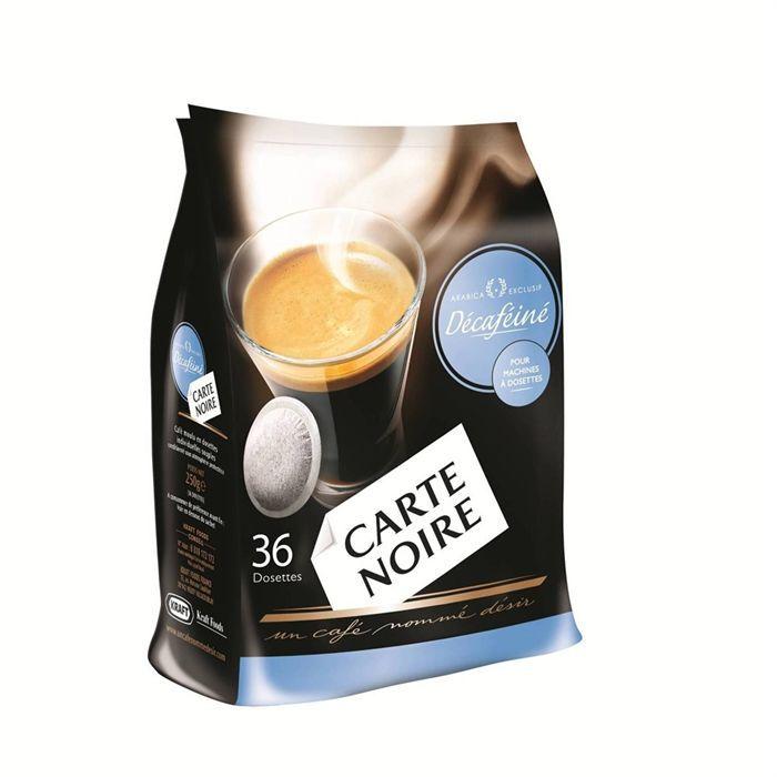 CARTE NOIRE Décaféiné Classic 36 Dosettes 250g