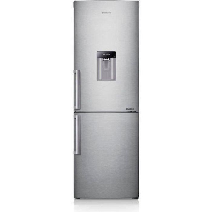 SAMSUNG RB29FWJNDSA -Réfrigérateur congélateur bas-288L (190+98)-Froid ventilé total multiflow--L 59.5cm x H 178cm-Silver