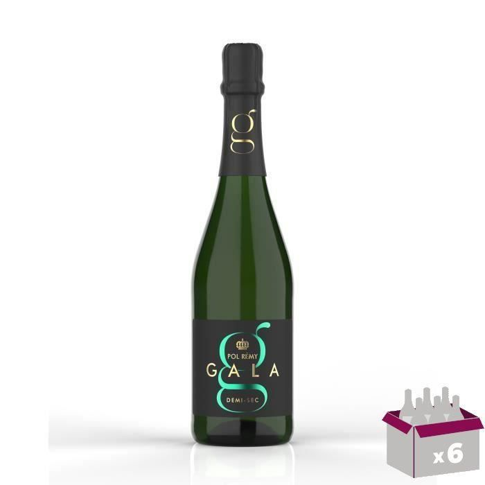 Gala Paris Demi-sec - Vin effervescent blanc