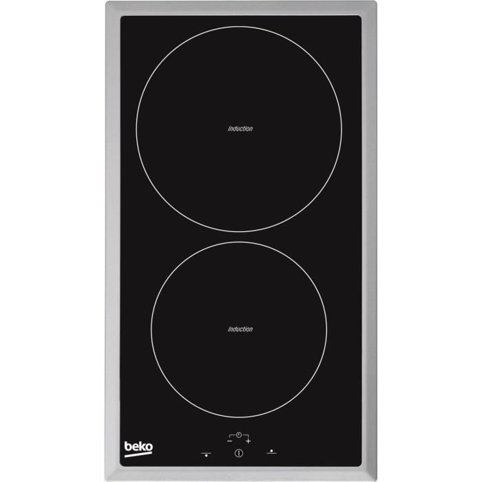 BEKO HDMI 32400 DTX - Table 2 Foyers Domino Induction, Noir