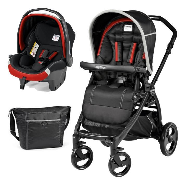 PEG PEREGO Poussette combiné Pack Duo Book Plus