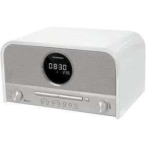 SCHNEIDER SC700MCCD Micro chaine CD/MP3/Bluetooth - Blanc