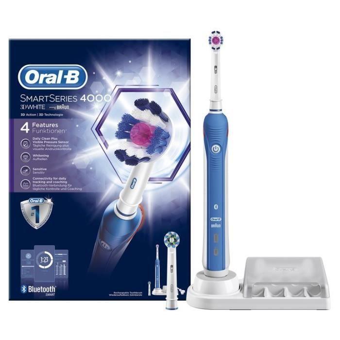 Oral-B Smart 4000 3D White Brosse à dents électrique