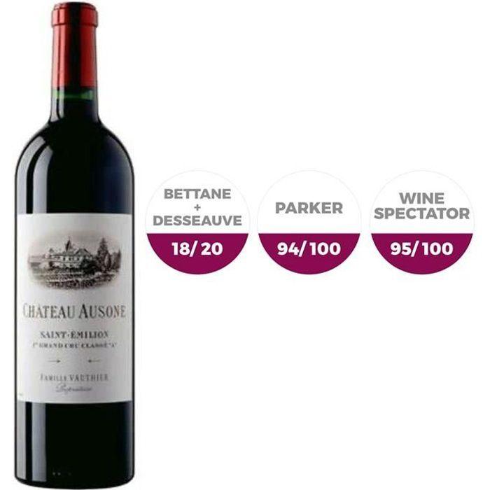 Château Ausone 2004 Saint Emilion Grand Cru - Vin rouge de Bordeaux