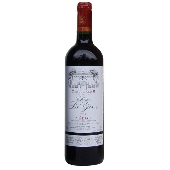 Château La Gorce 2004 Médoc Cru Bourgeois Cuvée Prestige - Vin Rouge de Bordeaux