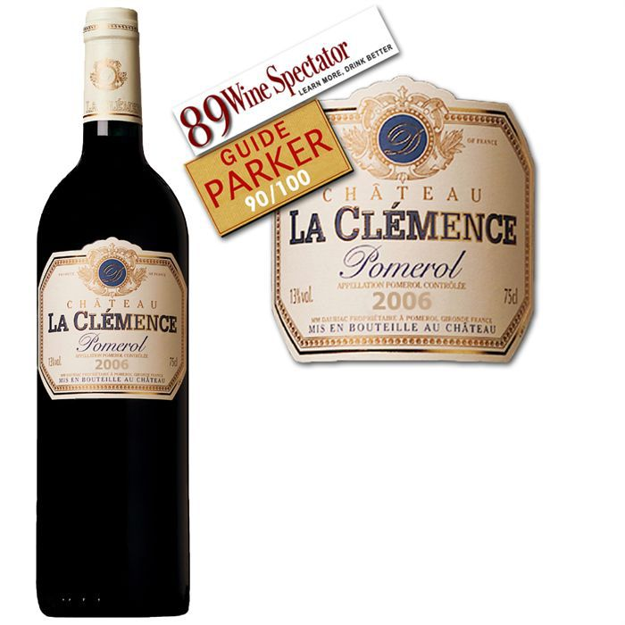 Château La Clémence 2006 - Vin rouge