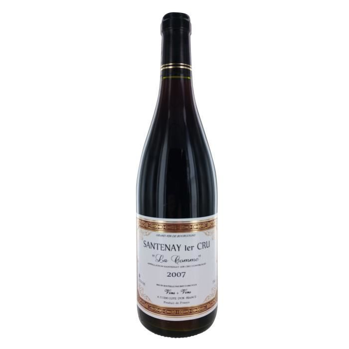La Comme 2007 Santenay 1er Cru - Vin rouge de Bourgogne