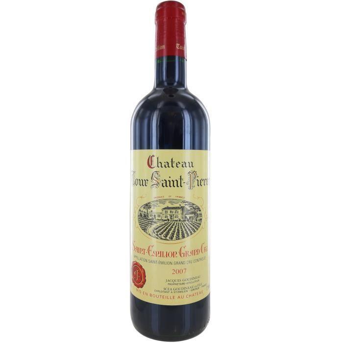 Château Tour Saint-Pierre 2007 Saint-Emilion Grand Cru - Vin rouge de Bordeaux