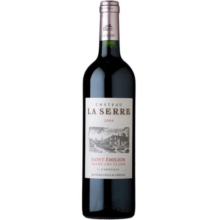 Château La Serre 2009 Saint-Émilion Grand Cru - Vin rouge de Bordeaux