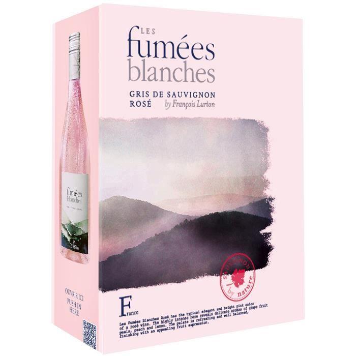 BIB François Lurton Les Fumées Blanches Vin de France - Vin rosé