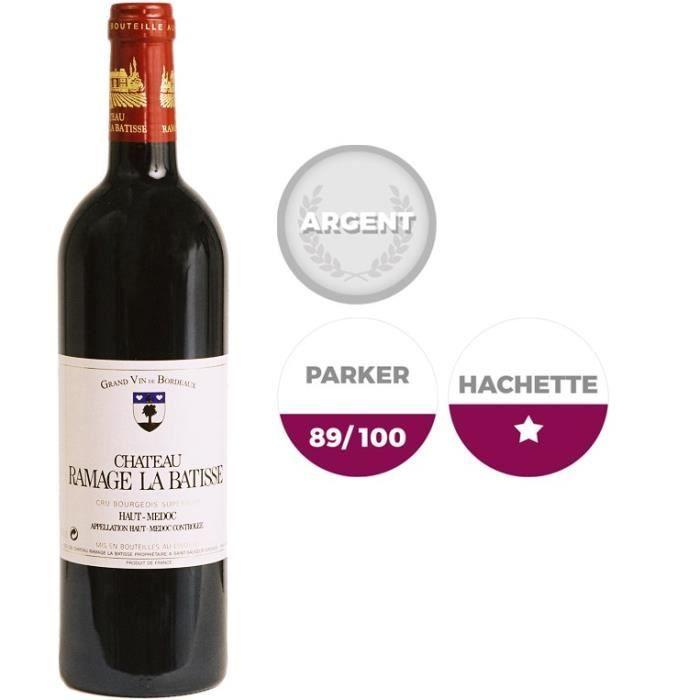 Château Ramage La batisse2010 Haut Médoc - Vin rouge de Bordeaux