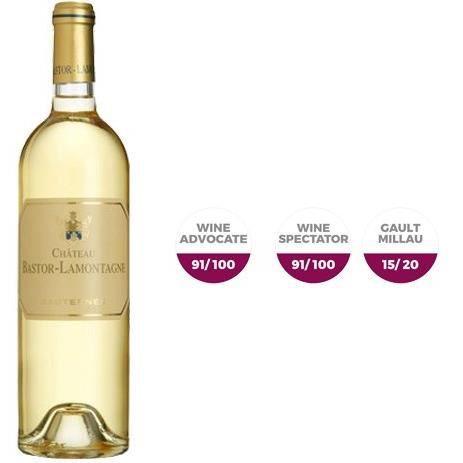 Château Bastor-Lamontagne 2011 Sauternes - Vin blanc de Bordeaux