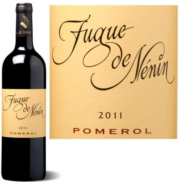 Fugue de Nenin rouge Pomerol 2011 x1