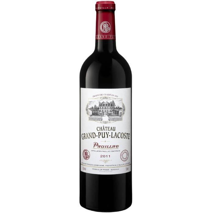 Château Grand Puy Lacoste 2011 Pauillac Grand Cru - Vin rouge de Bordeaux