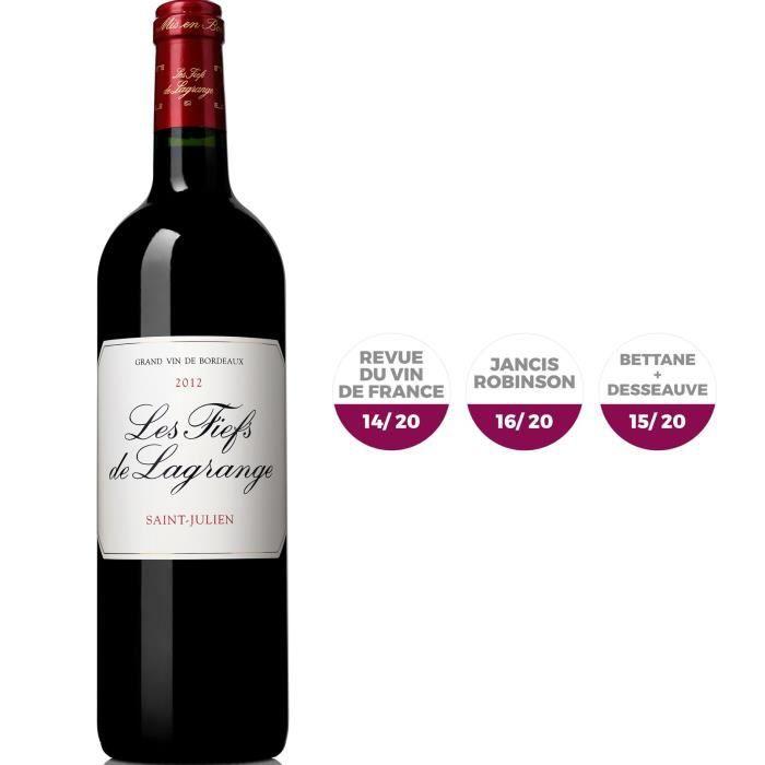 Les Fiefs de Lagrange 2012 Saint-Julien - Vin rouge de Bordeaux