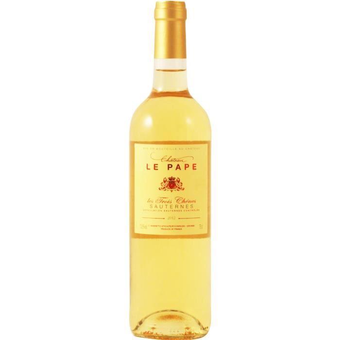 Château Le Pape Sauternes 2012 - Vin blanc liquoreux