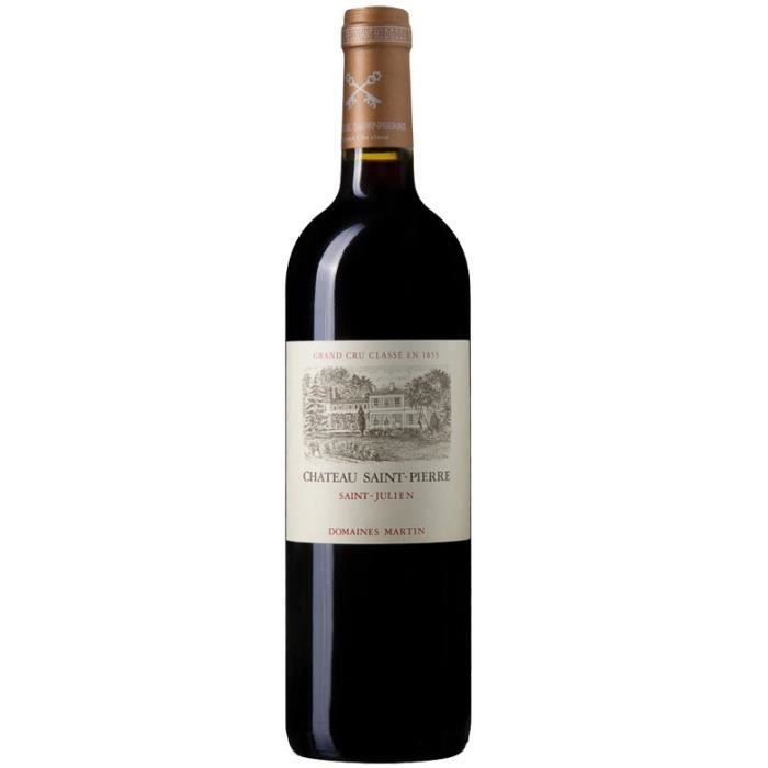 Château Saint Pierre 2012 Saint-Julien 4ème Grand Cru Classé du Médoc - Grand vin rouge de Bordeaux
