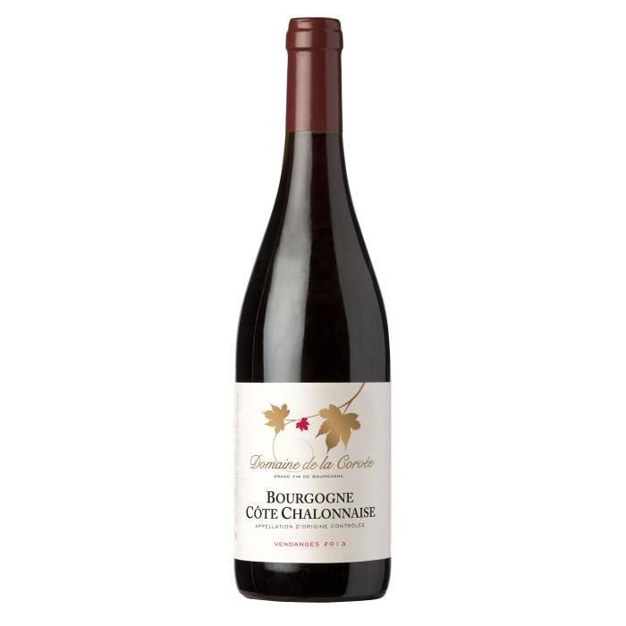 Domaine de la Corvée 2013 Côte Chalonnaise - Vin rouge de Bourgogne
