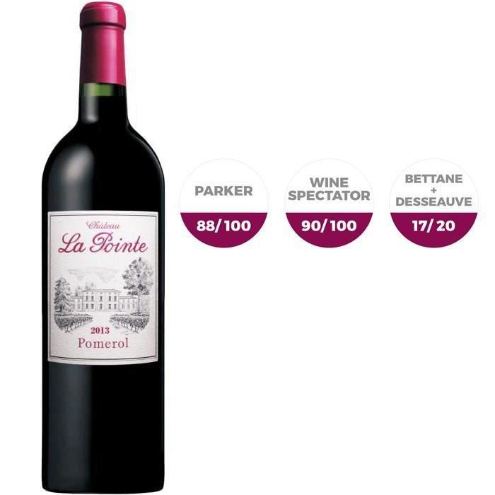 Château La Pointe 2013 Pomerol - Vin rouge de Bordeaux