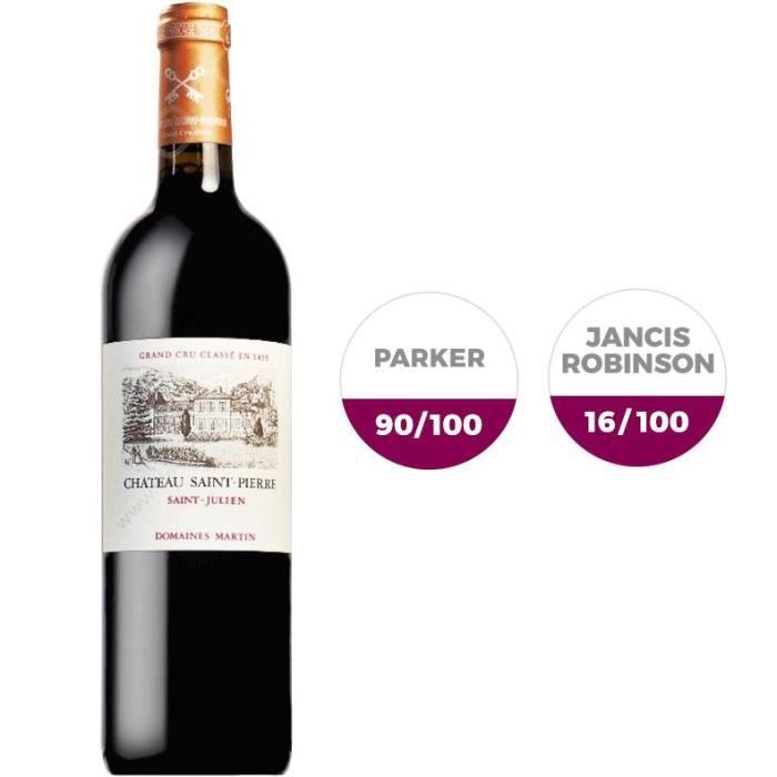 Château Saint Pierre 2013 Saint-Julien Grand Cru - Vin rouge de Bordeaux