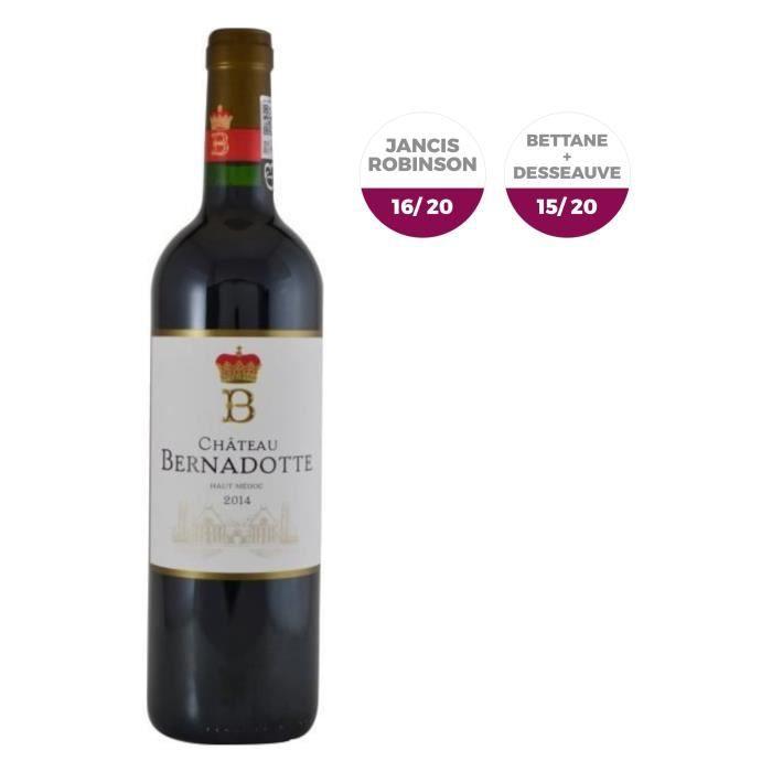 Château Bernadotte 2014 Haut-Médoc Grand Cru - Vin rouge de Bordeaux
