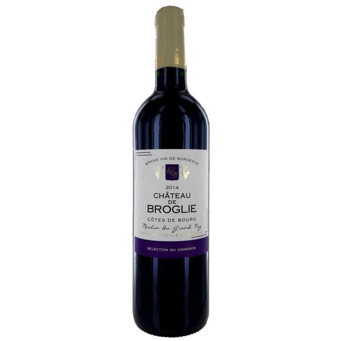 Château de Broglie 2014 Côtes De Bourg - Vin Rouge de Bordeaux