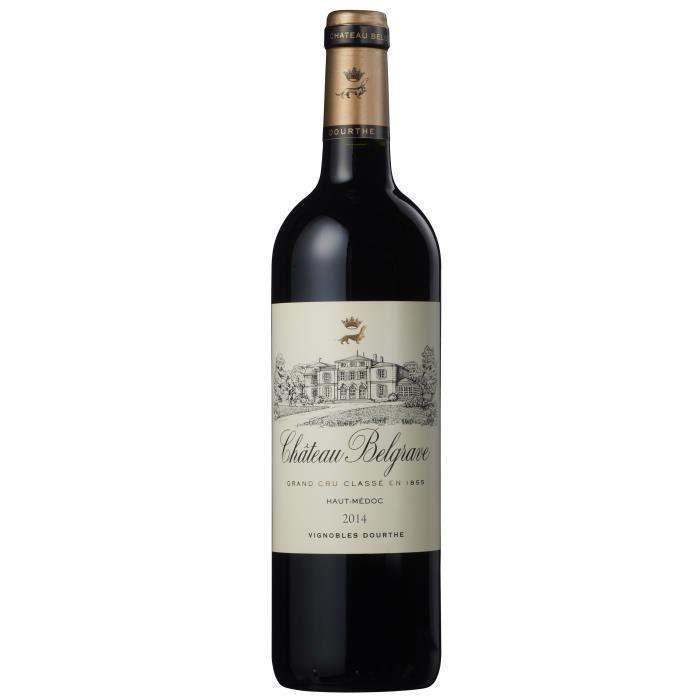 Château Belgrave 2014 Haut Médoc 5ème Grands Crus classé - Vin rouge de Bordeaux