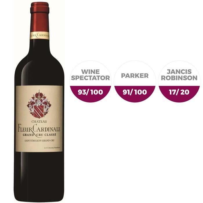 Château Fleur Cardinale Saint Emilon 2014 Grand Cru - Vin rouge de Bordeaux