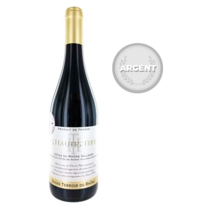Les Hautes Terres 2014 AOC Côtes du Rhône Villages vin rouge