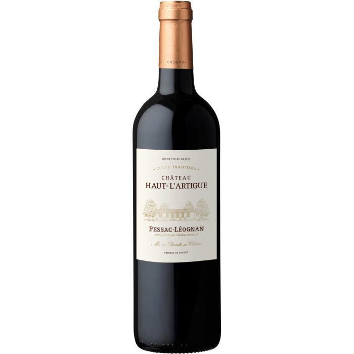 Château Haut-L'Artigue Cuvée Tradition 2017 Pessac-Léognan - Vin rouge de Bordeaux