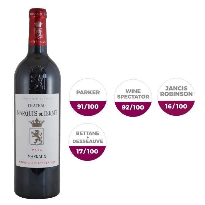 Château Marquis de Terme 2014 Margaux Grand Cru - Vin rouge de Bordeaux