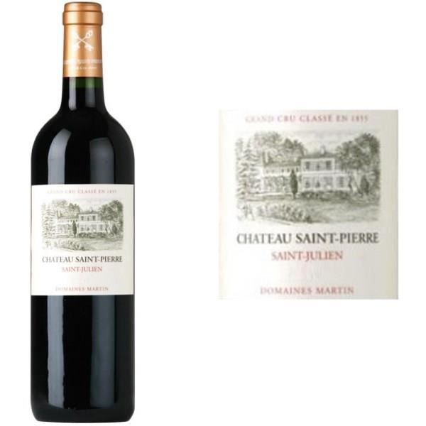 Château Saint Pierre 2014 Saint-Julien - Vin rouge de Bordeaux