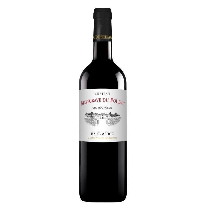 Château Bellegrave de Poujeau 2015 Haut Médoc - Vin rouge de Bordeaux