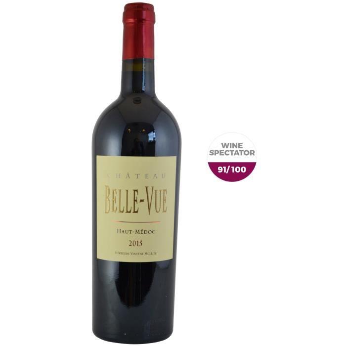 Château Belle-Vue 2015 Haut-Médoc - Vin rouge de Bordeaux