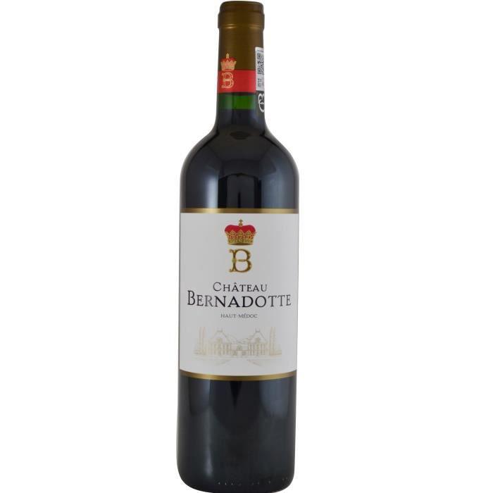 Château Bernadotte 2015 Haut-Médoc - Vin rouge de Bordeaux