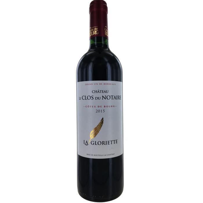Château Clos du Notaire 2015 Côtes de Bourg - Vin rouge de Bordeaux