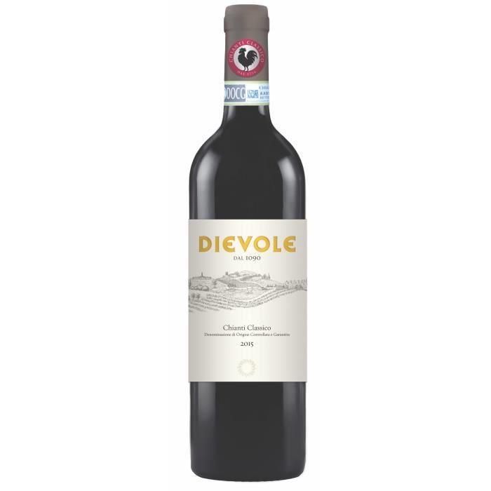 Dievole 2015 Chianti Classico - Vin rouge d'Italie