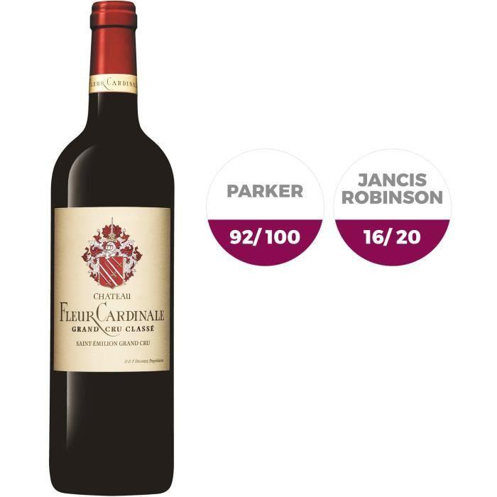 Château Fleur Cardinale 2015 Saint Emilion Grand Cru - Vin rouge de Bordeaux