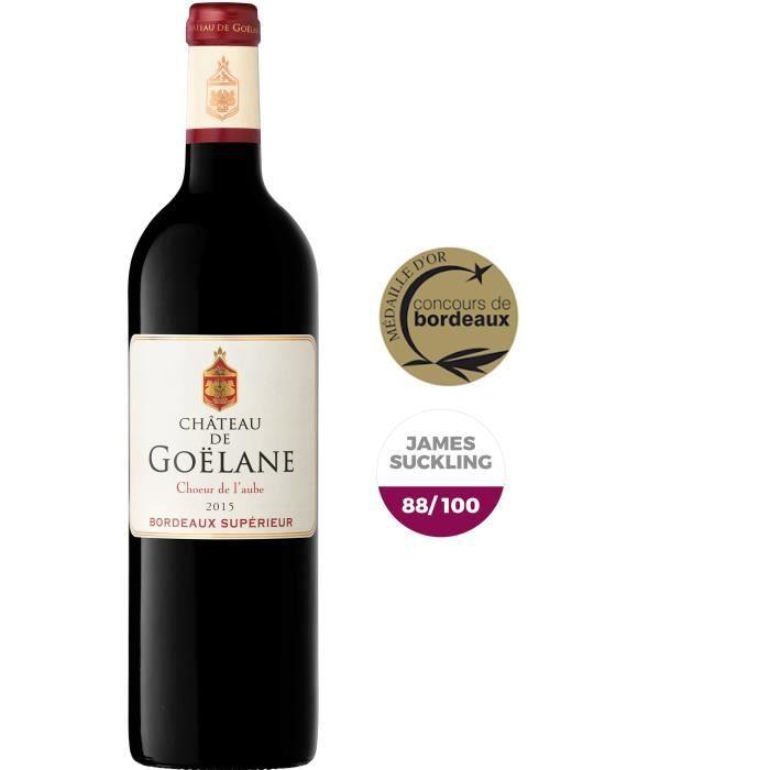 Château de Goëlane 2015 Bordeaux Supérieur - Vin rouge de bordeaux