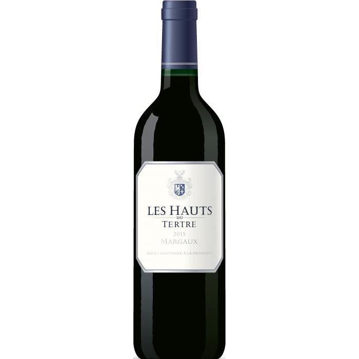 Les Hauts du Tertre 2015 Margaux - Vin rouge de Bordeaux