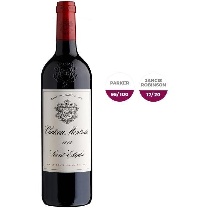 Château Montrose 2015 Saint-Estèphe Bordeaux - Vin Rouge - 75 cl