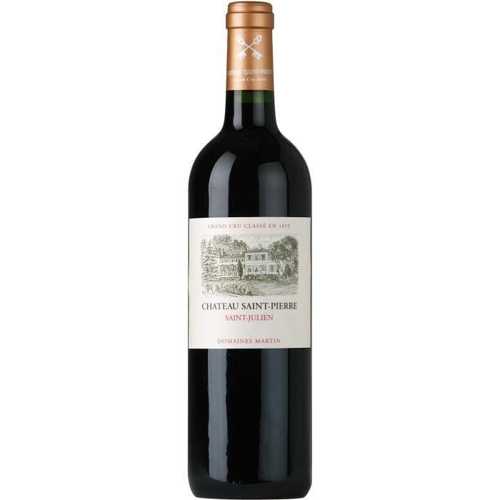 Château Saint Pierre 2015 Saint Julien - Vin rouge de Bordeaux