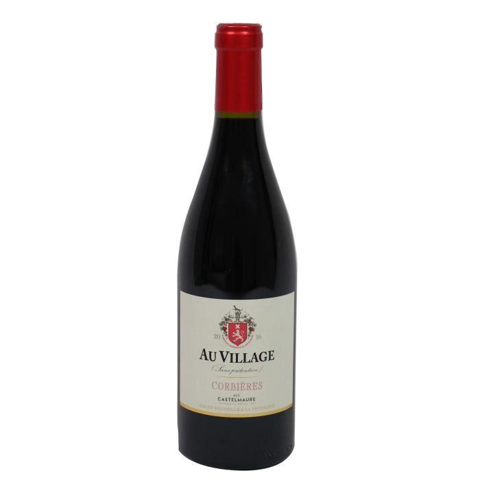 Au Village 2016 Corbières - Vin rouge du Languedoc