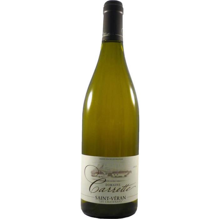 Domaine Carrette Les Chatenays 2016 Saint-Véran - Vin blanc de Bourgogne